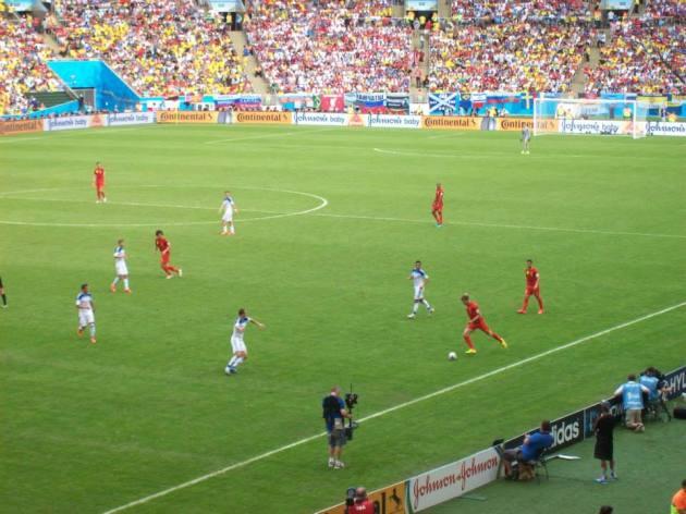 Le match © C.F.