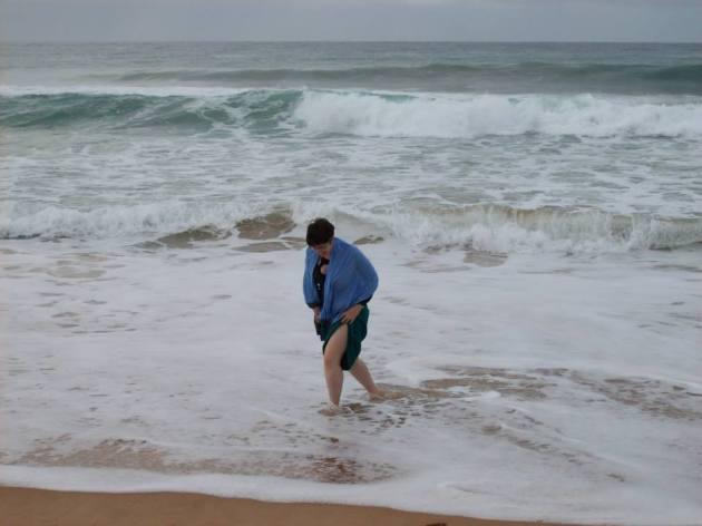 Les pieds dans l'eau © C.F.